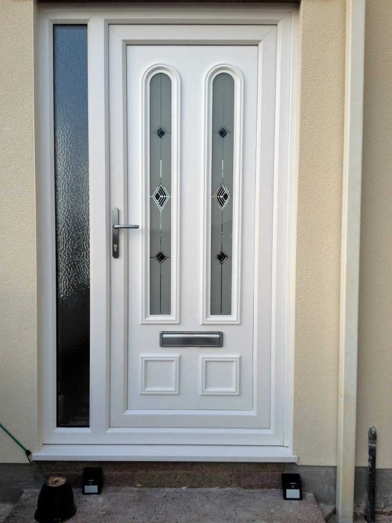 Upvc doors cumbria front back pvc doors cumberland for Upvc front door 78 x 30